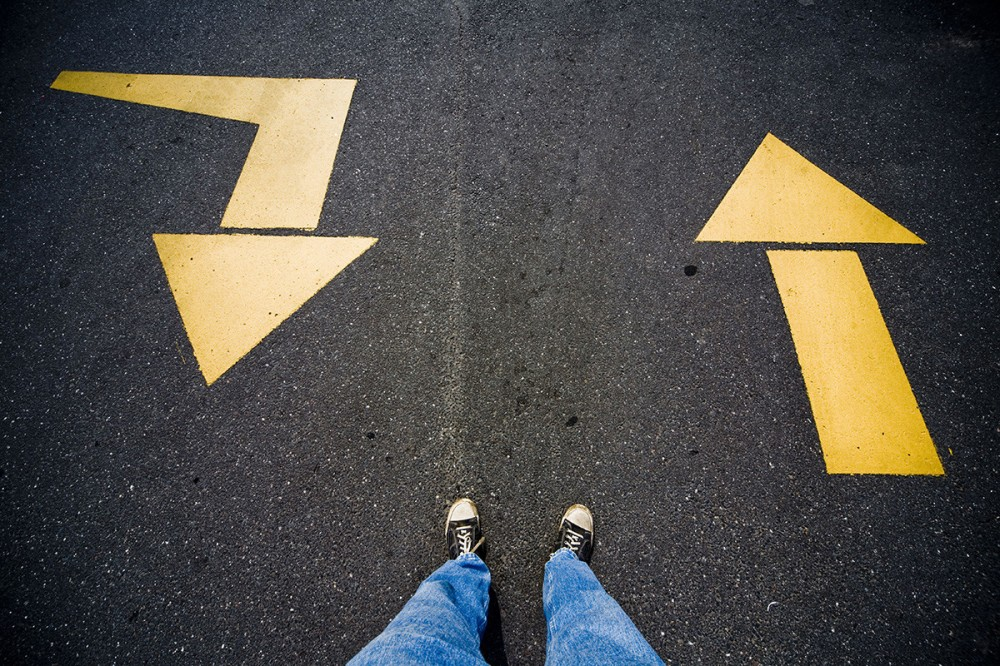 Left or Right? Forward or Backward?